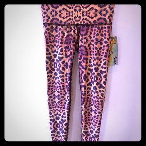 Teeki Purple (Cheetah!) Awakening Yoga Pants